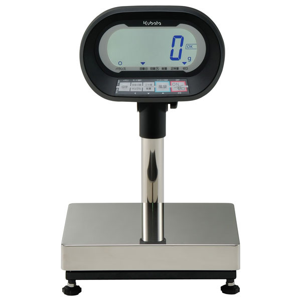 クボタ計装 デジタル台はかり6kg用(検定品) KL-SD-K6MS(地区9-10) (直送品)