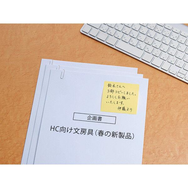 スリーエム Post-it イエロー 654RP-200Y 1個 (直送品)