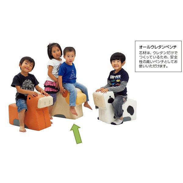 オリバー キッズ アニマルベンチクッション ヒツジ (直送品)