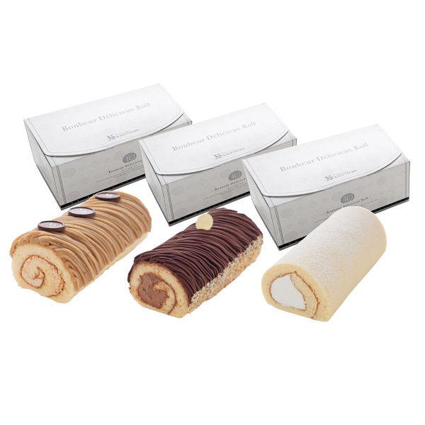 花月堂 3種のロールケーキ福箱
