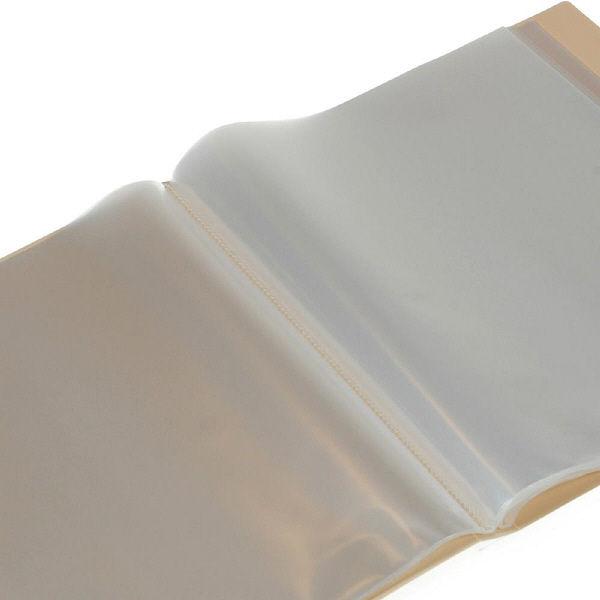 エトランジェ・ディ・コスタリカ A4クリアファイル40[SOLID]アイボリー SLDー72ー16 3冊 (直送品)