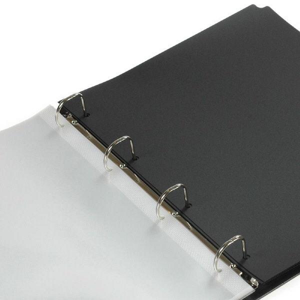 エトランジェ・ディ・コスタリカ A4ポケットファイル[SOLID2]ブラック SLD2ー18ー02 3冊 (直送品)