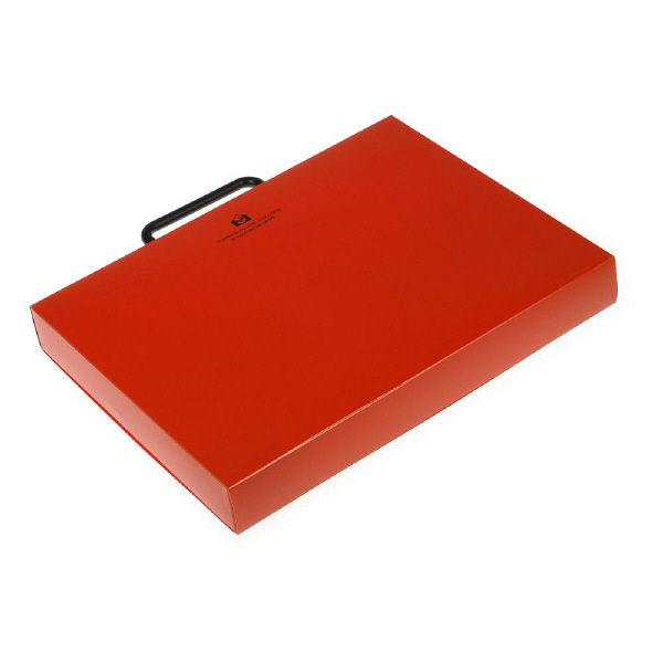 エトランジェ・ディ・コスタリカ A4ブリーフケース[SOLID]オレンジ SLDー91ー12 2個 (直送品)