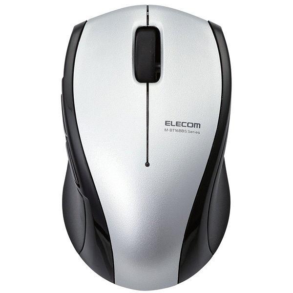 エレコム 静音Bluetoothマウス(BlueLED 5ボタン) M-BT16BBSSV (直送品)