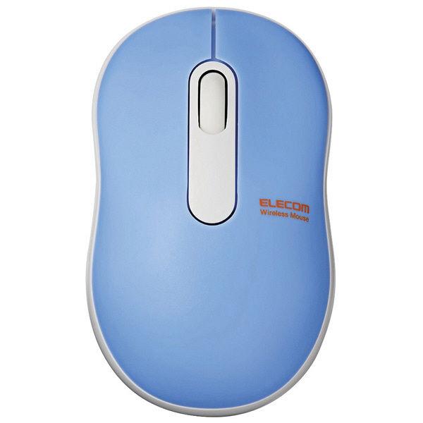 エレコム 無線マウス 光学式 Sサイズ ライトブルー M-DY10DRBUL (直送品)