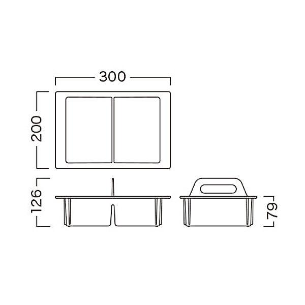 河淳 KMキャリーコンテナ32-08 クリアイエローグリーン 8個セット MCN024YGT (直送品)