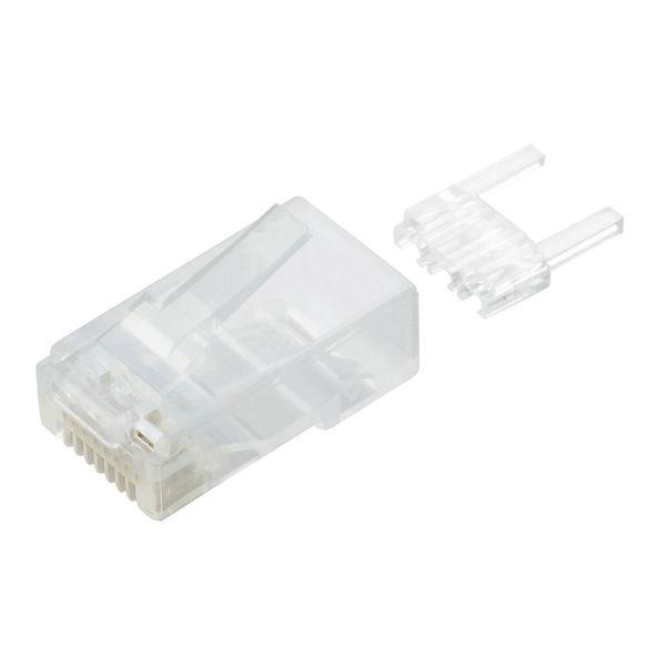 エレコム ツメの折れないLANコネクタ(Cat6) LD-6RJ45T10/T (直送品)