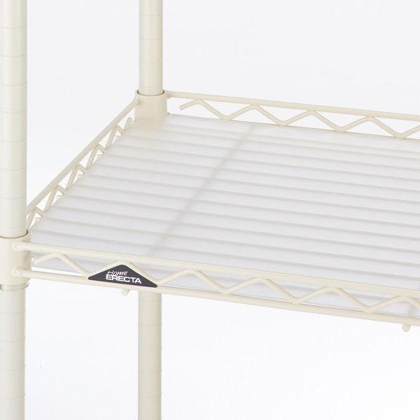 【サイズ&カラー・オーダーシステム】ホームエレクター オーダーアクリル板 フロスト 幅725x奥行400mm 1枚 (直送品)