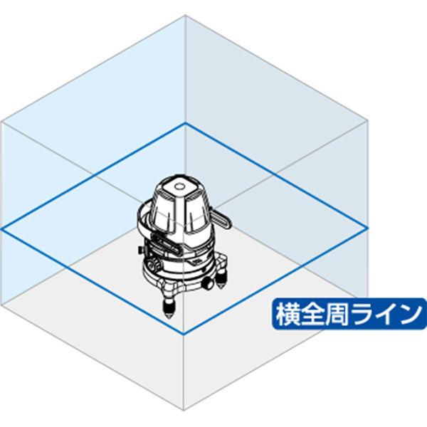 レーザーロボ Neo 01AR BRIGHT 横全周 77507 シンワ測定 (直送品)
