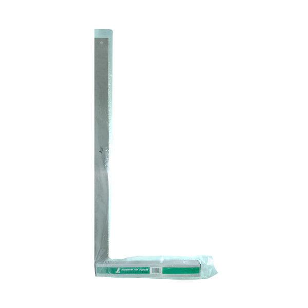 アルミ台付スコヤ 70cm 目盛なし 74118 1セット(2個) シンワ測定 (直送品)