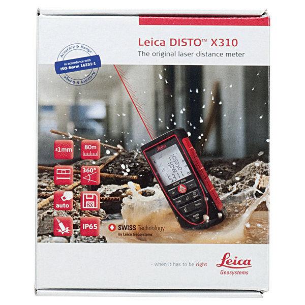 レーザー距離計 ライカディストX310 DISTO-X310 TJMデザイン (直送品)