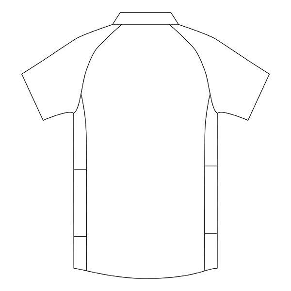 住商モンブラン メンズジャケット 医療白衣 半袖 ホワイト×ウォームブルー M CHM558-0104 (直送品)