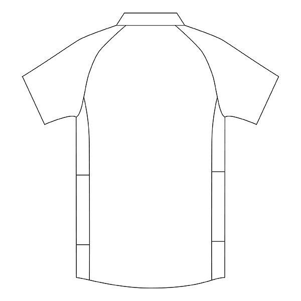 住商モンブラン メンズジャケット 医療白衣 半袖 ホワイト×グレー LL CHM558-0140 (直送品)