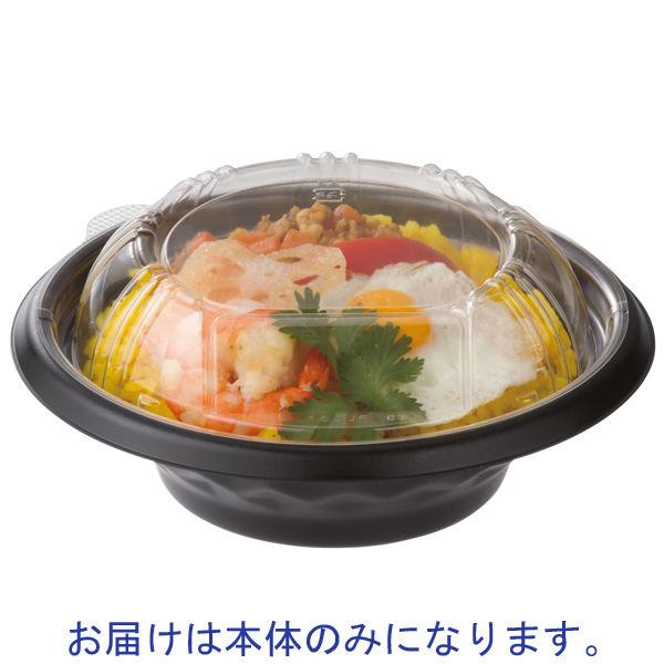 福丸丼180 黒 本体 1箱(600枚)