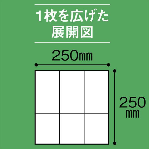 6つ折りナプキン未晒し (10000枚)