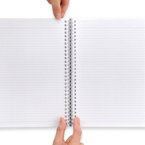 リヒトラブ AQUA DROPs ツイストノート<超厚型> リーフ100枚 N1610-5 2冊(直送品)