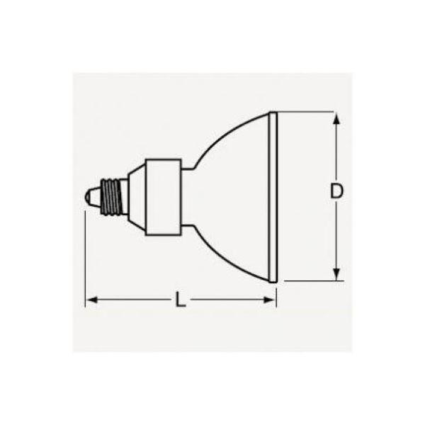 潮 ハロゲンランプ JRφ50 12V 75W形 超広角 ビーム角:60° EZ10口金 JR12V50WLWWKEZ-H