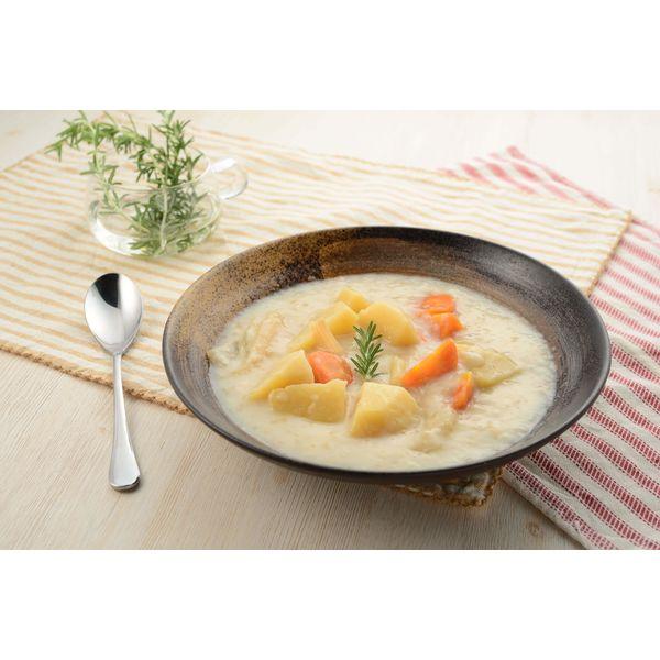 アルファフーズ UAA食品 美味しい防災食 ホワイトシチュー T485 1セット(36食入)(直送品)
