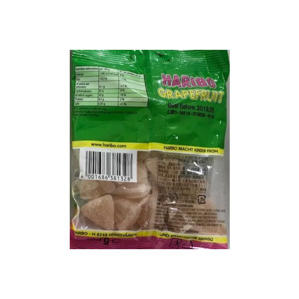 独産 HARIBO グレープフルーツ 袋100g [1328]