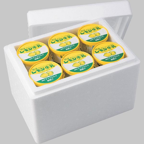 レモン牛乳カップアイス