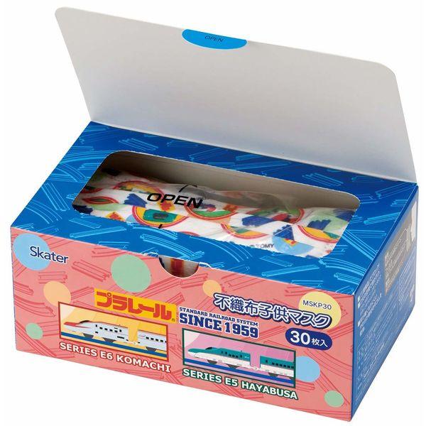 不織布子供マスク箱入 プラレール 2箱