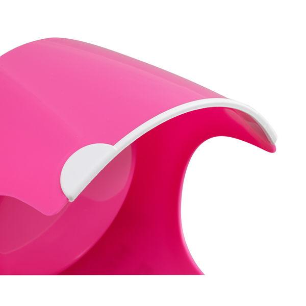 猫専用フードボール すべり止め付 ピンク