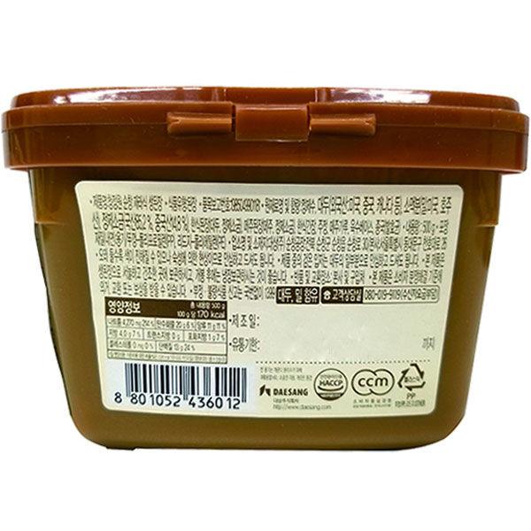ハッピー食品 デンジャン500g 8801052436012 20個(直送品)