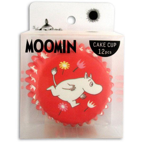 ケーキカップ ムーミン 12枚入
