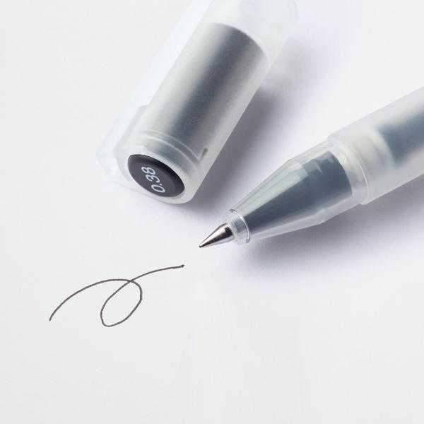 ボールペン キャップ式0.38mm・黒