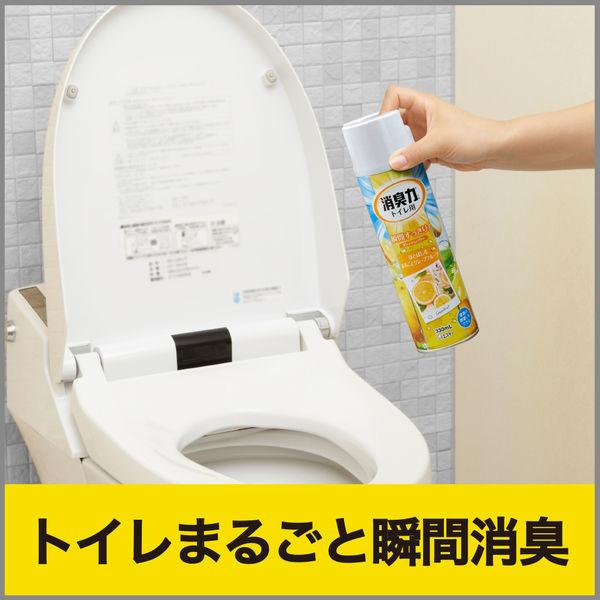 トイレの消臭力スプレーグレープフルーツ