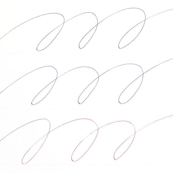 ジェットストリーム スリム 3色 白