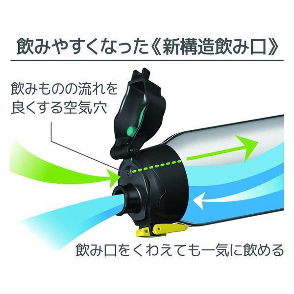 真空断熱スポーツボトル 1.5Lブラック