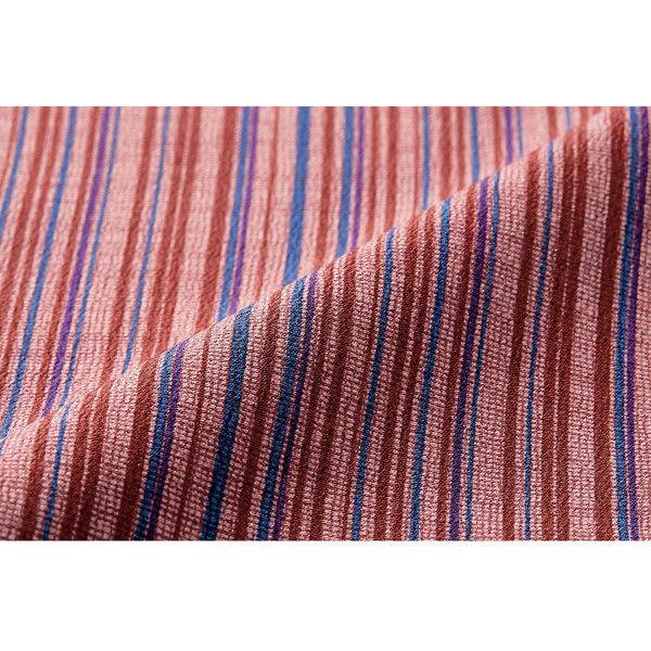 住商モンブラン MONTBLANC(モンブラン) 作務衣パンツ レディス 元禄格子柄 臙脂 L 7-365(直送品)