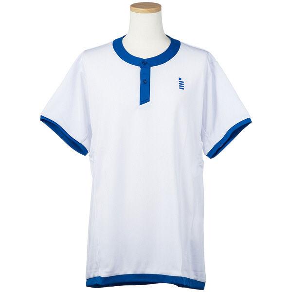 テニスゲームシャツ ホワイト L