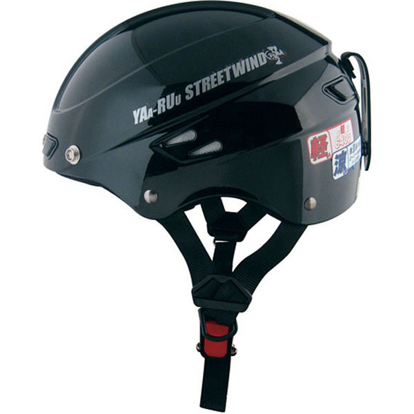 TNK工業 STR Z ヘルメット ブラック FREE(58-59cm) 510809 (直送品)