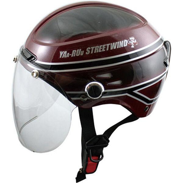 TNK工業 STR-Z JT vintage ヘルメット マルーン/ブラック FREE(58-59cm) 511196 (直送品)