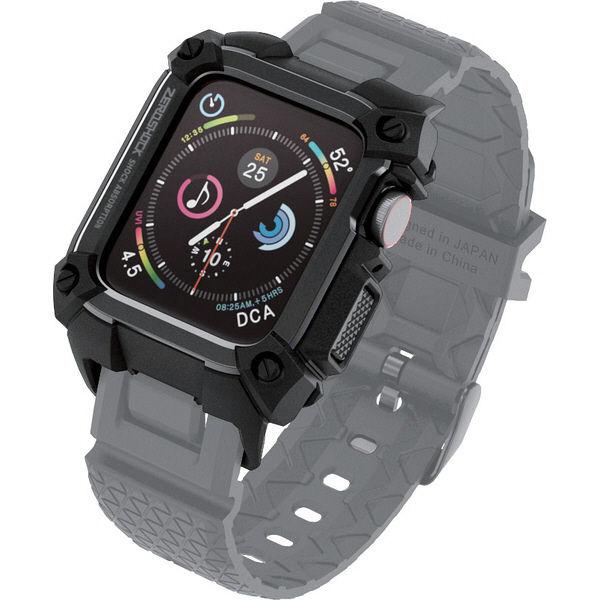 エレコム Apple Watch 40mm/ZEROSHOCKケース/ブラック AW-40ZEROBK 1個 (直送品)
