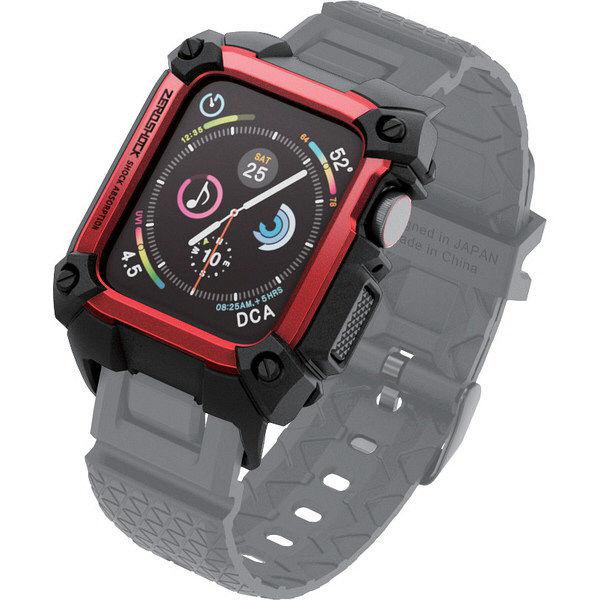 エレコム Apple Watch 40mm/ZEROSHOCKケース/レッド AW-40ZERORD 1個 (直送品)