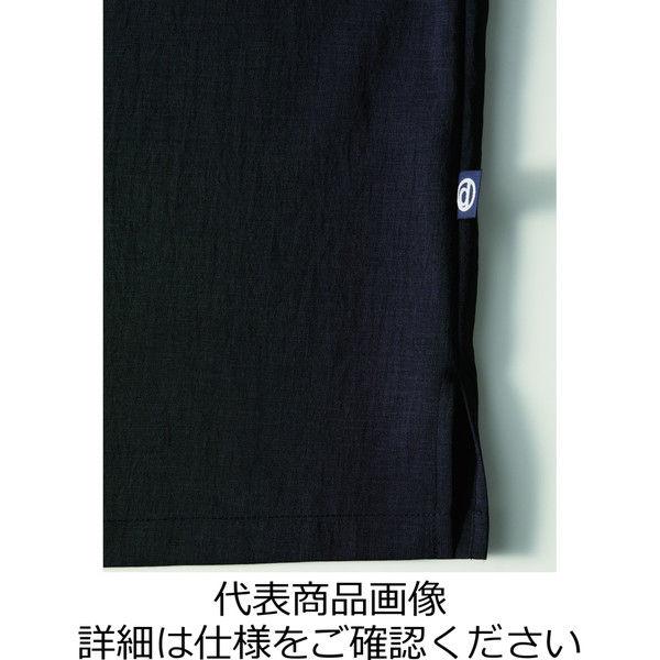 チトセ 和風シャツ(八分袖)[男女兼用] DN8501_C-7茶_LL(取寄品)