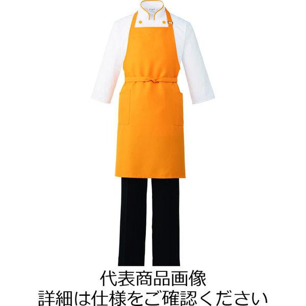 チトセ エプロン T8537_C-4オレンジ(取寄品)