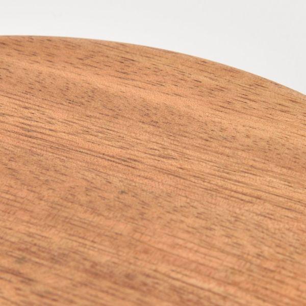 アカシア鍋敷き 約直径20cm