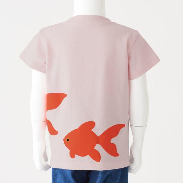 無印 天竺編みプリントTシャツ 90