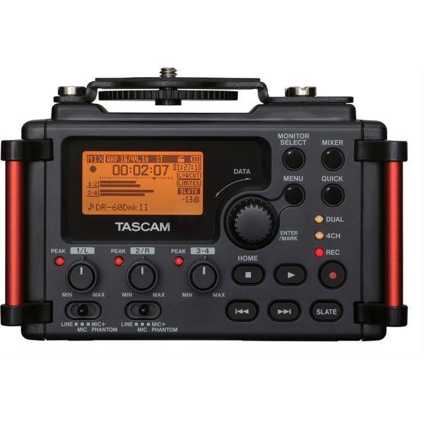 TEAC TASCAM DSLR用リニアPCMレコーダー/ミキサー DR-60DMK2(直送品)