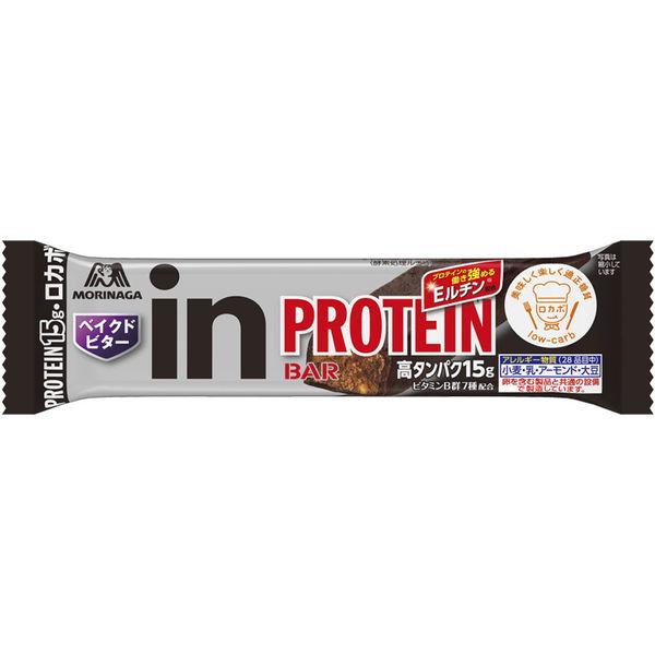 森永製菓 inバープロテイン ベイクドビター 6本