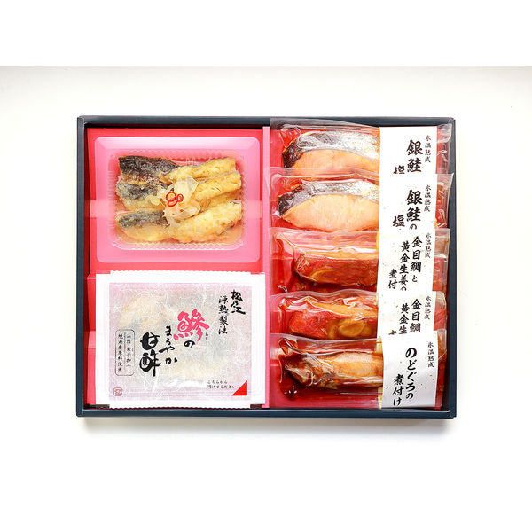 氷温熟成 簡単調理の魚惣菜ギフト