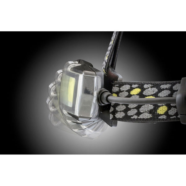 GENTOS ジェントス COB搭載LEDヘッドライト (充電池/乾電池両対応) NRX-180H