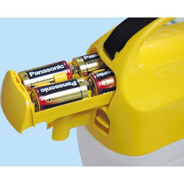 工進 肩掛式 乾電池 高圧 噴霧器 5L GT-5HS(直送品)