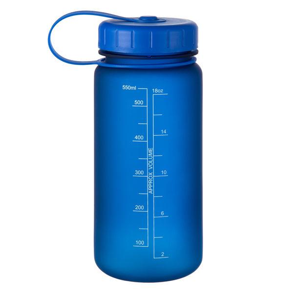 ウォーターボトル550ml ブルー