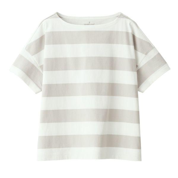 ボートネックワイドTシャツ XS~S
