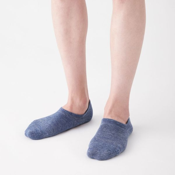無印 スニーカーイン靴下25~27cm